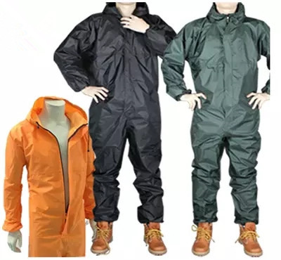 Fashion motorcycle raincoat Conjoined raincoat overalls men and women fission rain suit rain coat