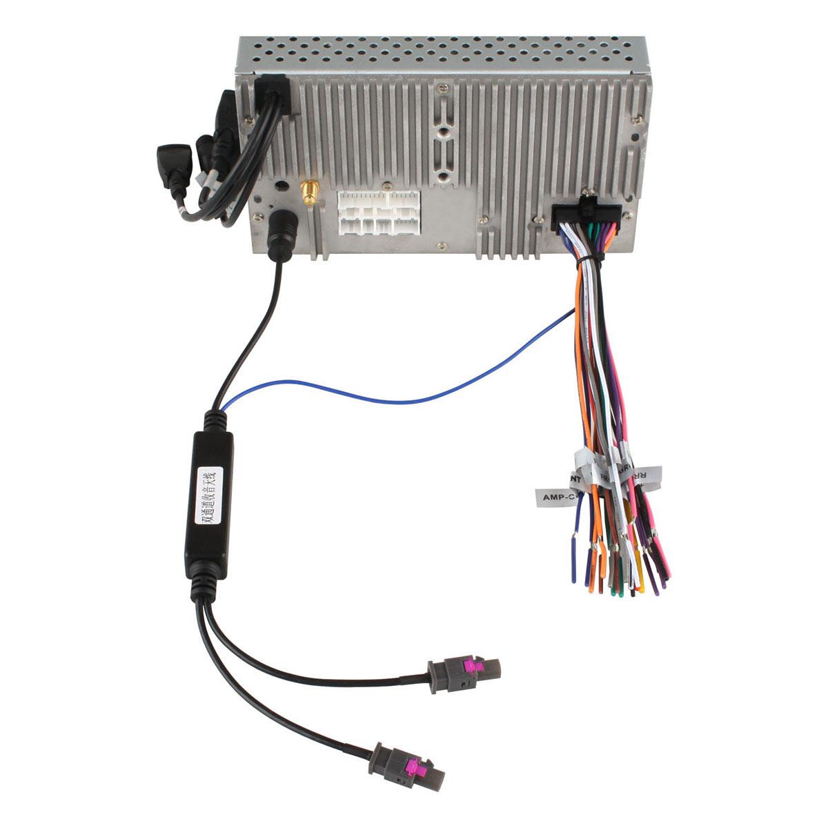 Freies Verschiffen! Zwei Möglichkeiten Auto Radio Antenne Antenne Adapter für BMW AUDI VW SKODA