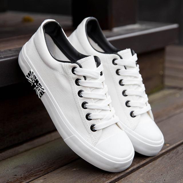 Zplover 2017 Nuevos Zapatos Casuales Para Hombre Bandera del Otoño del Resorte Zapatos de Lona de Verano Zapatos de Los Hombres zapatillas hombre