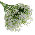 10 pcs wholesale fake simulation real natural artificial gypsophila paniculata flowers for table decoration wedding bouquets P45