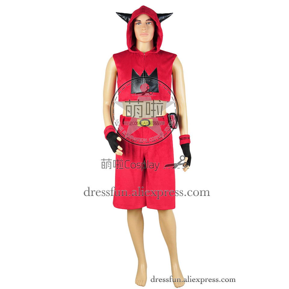 Pokemon Cosplay Team Magma Costume Full Set New Red Outfits Suit Uniform Halloween Fashion Party Fast Shipping