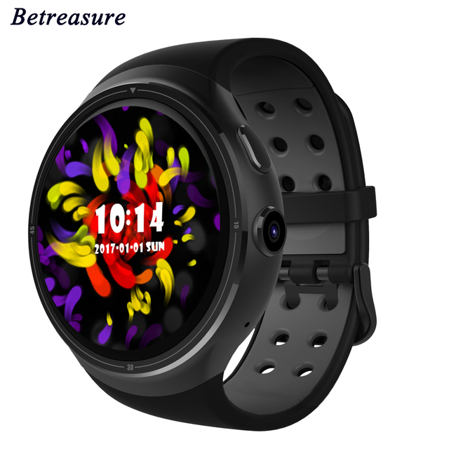 Betreasure Z10 Смарт-часы Android 5.1 MTK6580 1 ГБ/16 ГБ Bluetooth 3 г WI-FI шагомер smartwatchs телефон с 2.0 МП Камера