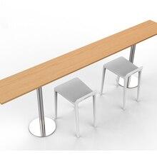 Удобный магазин приспособлений Кофейня стол доска стол стулья набор для общения напиток Досуг бар магазин мебель сборка