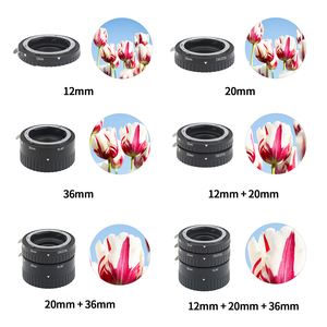 Image 5 - SHOOT Auto Focus Macro Extension Tube Ring Set for Nikon D3200 D3300 D5600 D7100 D5300 D7200 D7500 D3100 D90 D5100 D5500 D4 DSLR