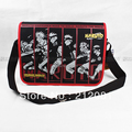 2015 new arrival hot sale Naruto theme boys Messenger Bag naruto bag for boys schoolbag