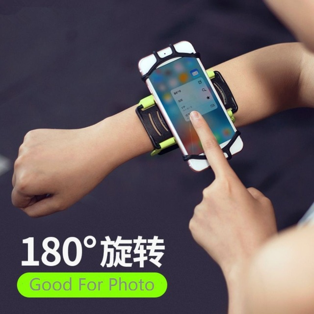 SzBlaZe Professional Rotatable Running Bag Wrist Band Arm cell phones Holder Sport pocket accessories For Gym Fitness Jogging 4