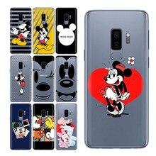 Coque Mi Mouse For Case Samsung Galaxy S9 S10 for Plus S8 S7 Cover Funda edge e