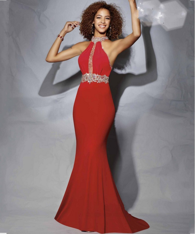 2016 Prom Mermaid Dresses Red Promotion-Shop for Promotional 2016 ...