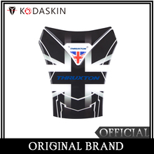 KODASKIN Motorcycle 3D Protection Tank Pad Decal Protector Sticker Emblem For Thruxton