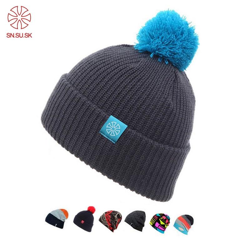 2019 Touca Winter Hat Knitted   Beanies   Hats For Men Women Caps   Skullies   Gorros Casual Outdoor Sport Bonnet Ski Mask   Beanie   Cap