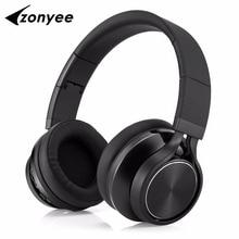 Zonyee Bluetooth 4.2 headset Heavy bass wireless Stereo earphone earbuds Apt-X Hi-Fi BL99 Foldable headphone for Phone