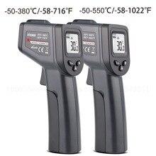 -50-380/550 Degree Handheld Digital Infrared Thermometer Non-Contact Laser LCD Display IR Temperature Gun Instruments цены
