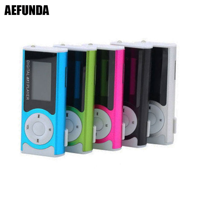Portable Mini USB Clip Digital LCD Screen Sport MP3 Player Media Music Player Support 16GB Externa Micro SD TF Card for MP3/WMA