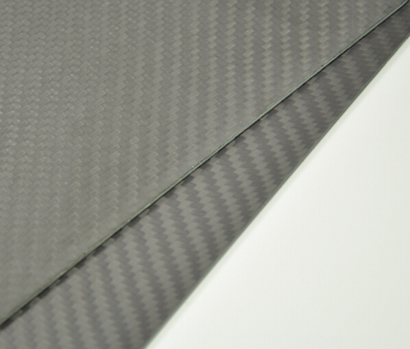 1pc 1 6mm Thick Matte Surface Carbon Fiber plate panel sheet Multi size