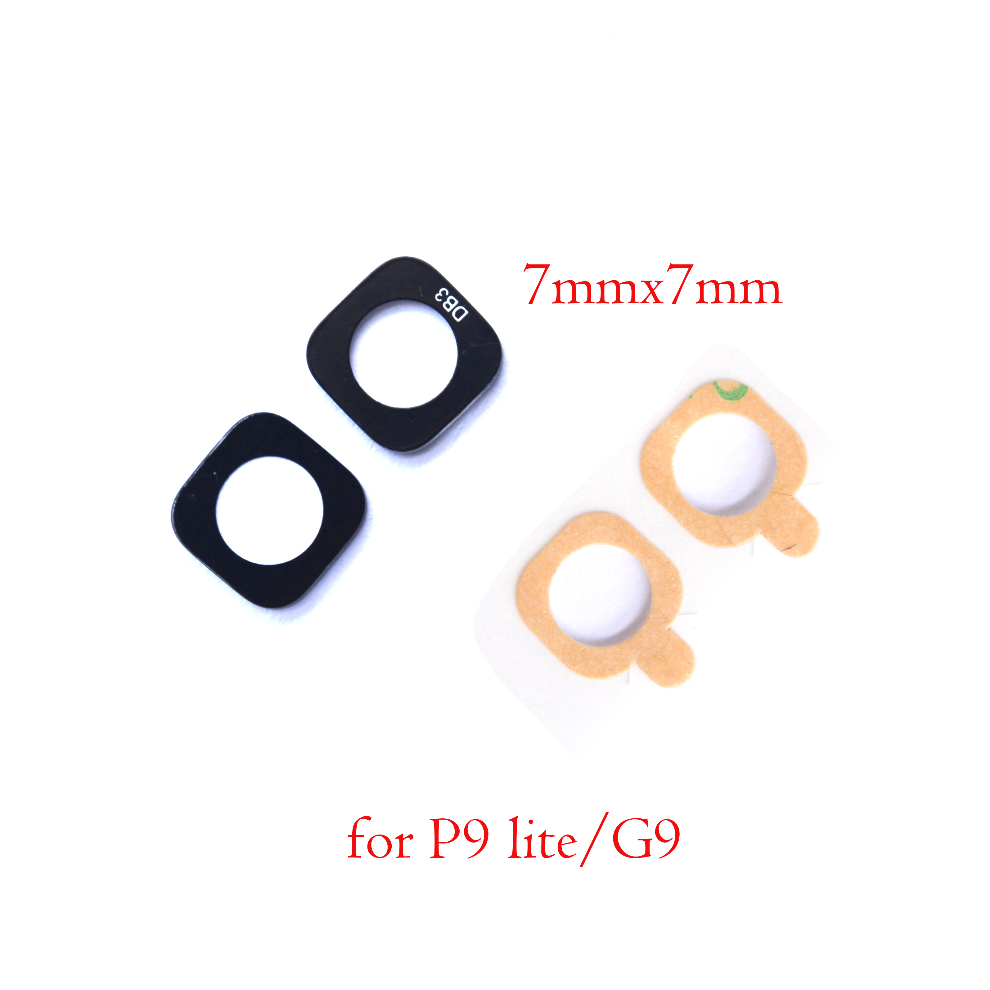 Camera Back Huawei Rear New for P9-Lite G9 Glass-Lens with Sticker 2pcs/Lot Original title=