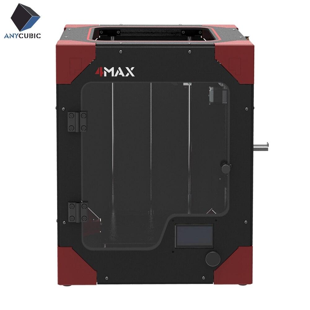 3-d-drucker Anycubic 3d Drucker 4max Pro Modulare Design Hohe Präzision Plus Größe Desktop Impresora 3d Drucker Diy Kit Mit Auto Power Off