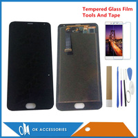 Original 5.5 Inches For Meizu MX5 MX 5 M575M M575HLCD Display+Touch Screen Digitizer Assembly Black White Color With Kits