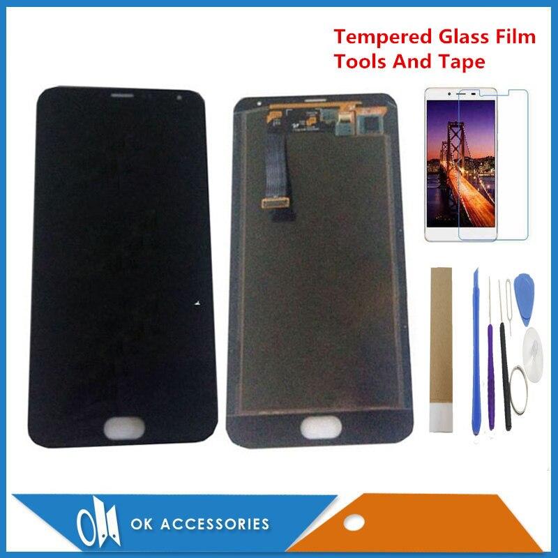Original 5.5 pouces pour Meizu MX5 MX 5 M575M M575HLCD affichage + écran tactile numériseur assemblée noir blanc couleur avec Kits
