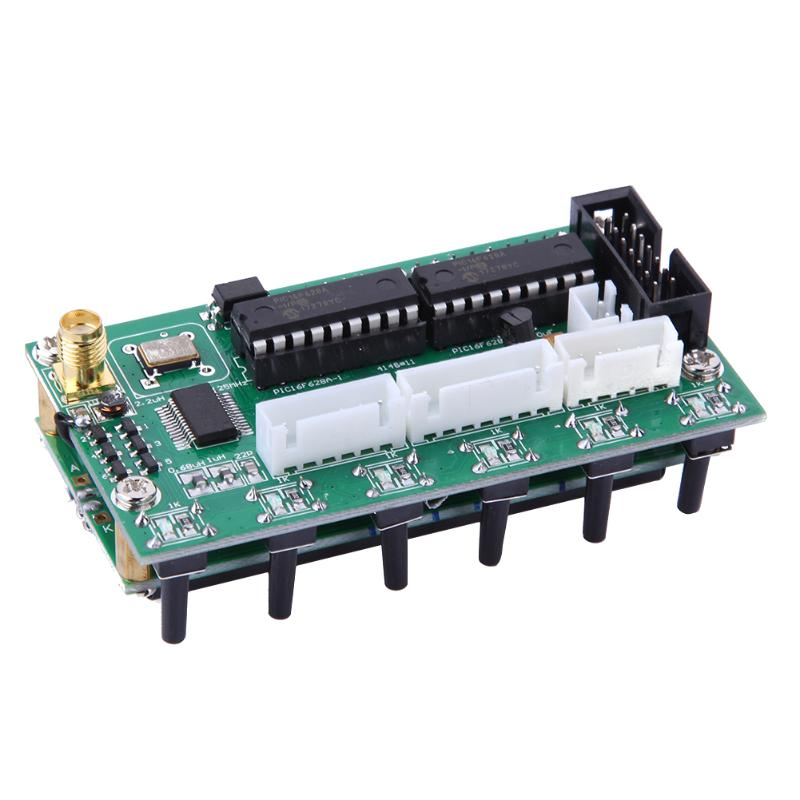 AD9850 DDS Signal Generator Digital Module 6 Bands 0-55MHz Frequency LCD Display DC 8V-9V 200mA dc 12v led display digital delay timer control switch module plc automation new