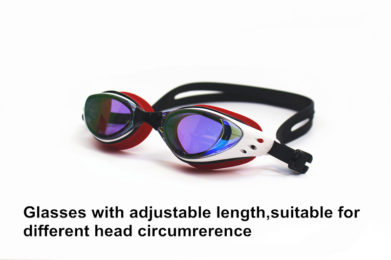 Men Women Myopia Electroplate Waterproof Swim Diopter Eyewear And Anti Fog UV Protection Goggles 2