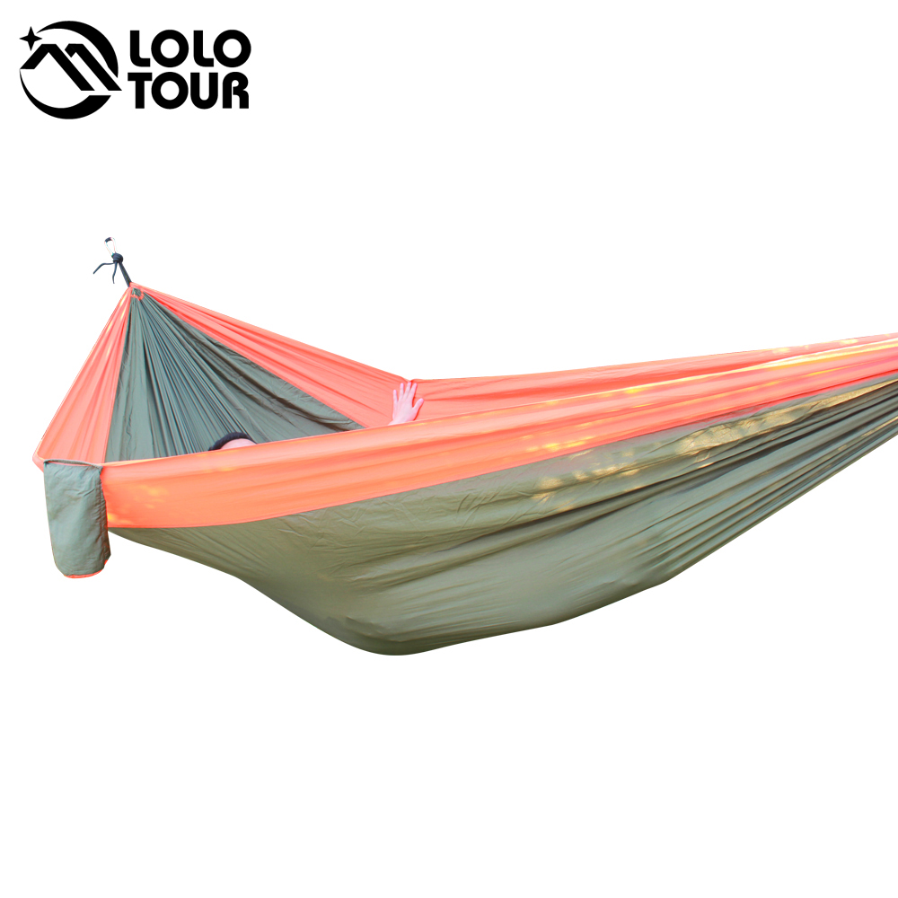 Furniture ... Outdoor Furniture ... 32658713057 ... 4 ... 320*200cm Ultra-Large 2-3 People Sleeping Parachute Hammock Chair Hamak Garden Swing Hanging Outdoor  Hamacas Camping 125*78'' ...
