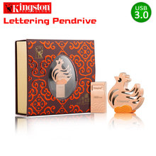 Kingston USB Flash Drive 32gb 3.0 DataTraveler USB 3.1 cle usb Stick Rooster USB Limited Edition Flash Memory Disk 32GB pendrive