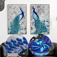 Kit Embroidery Cross Flowers For Rooms Stickers 5d Diamond Embroidery Animals Beadwork Pictures Diamond Painting Special
