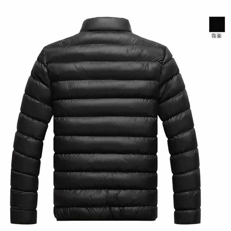 2019 ブランド新メンズジャケット秋冬ホット販売高品質の男性のファッションコートカジュアル生き抜くクールなデザインウォームジャケット男性 M-4XL
