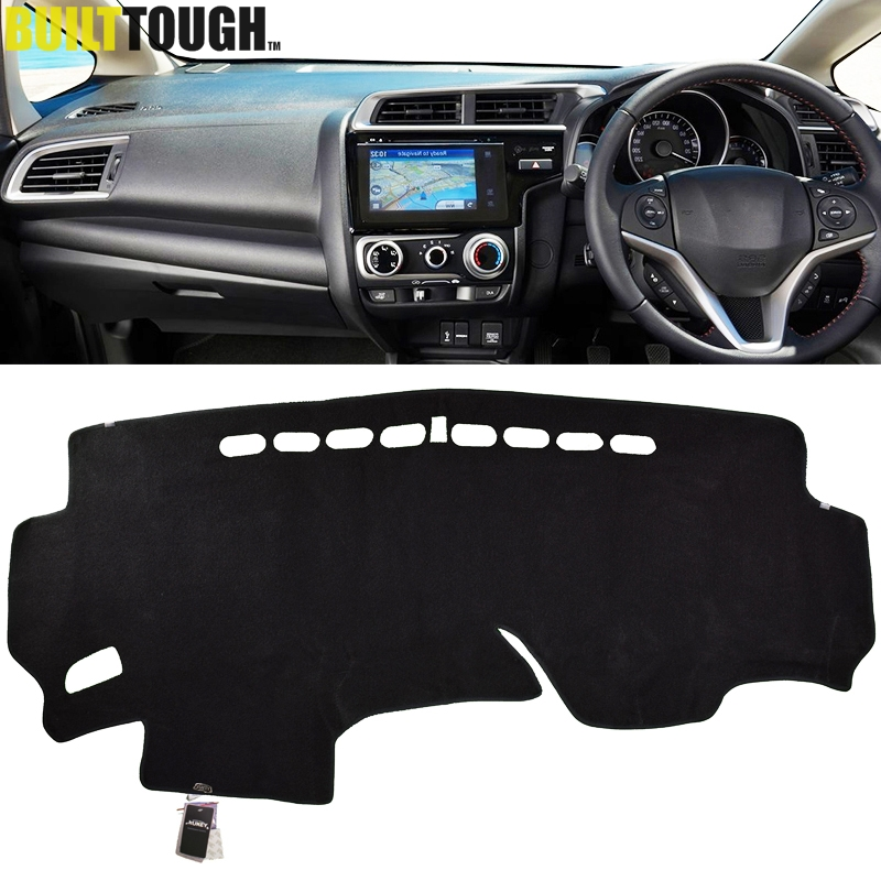 Inner Dashboard Dash Mat DashMat Sun Cover Pad Fit For Honda Fit Jazz 2014-2016