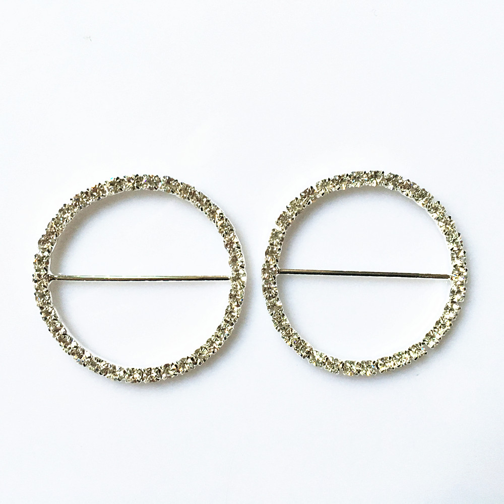 Apparel Sewing & Fabric Generous Cjsir 5pcs Dia45mm Big Round Buckle Chair Sash Buckles Made Of Aaa Rhinestone 38mm Bar Wedding Party Belt Decors Complete Range Of Articles Buckles & Hooks