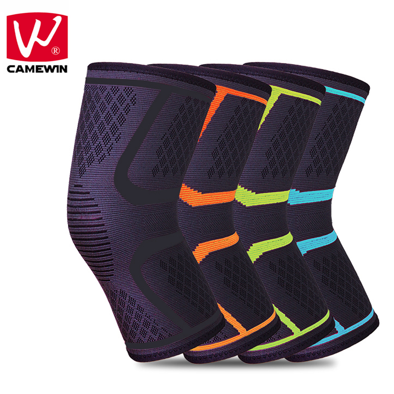 CAMEWIN 2 PCS Knee Protector Sports Running Riding Basketball Knee Pads for Men and Woman High-quality Breathable Knee Guard чехол для iphone 5 5s кораллово зеленый жук арт ip5 288 chocopony