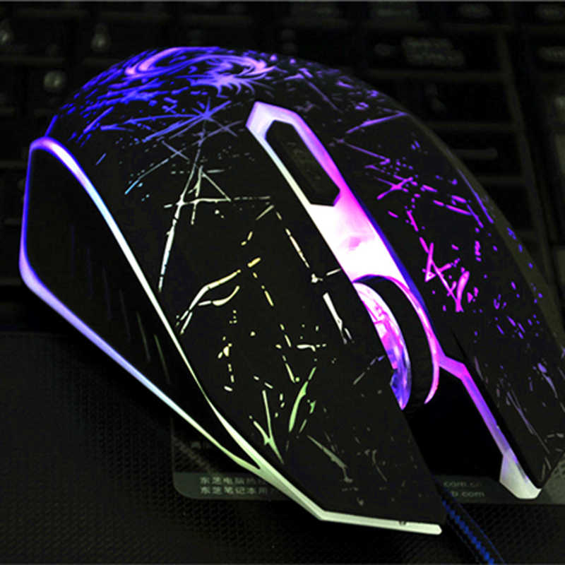Snigirブランドusb有線光学式コンピュータpcノートブックノートパソコンのゲーミングマウスdpiゲームledゲーマーマウスためdota csgoゲーマースリスアーク