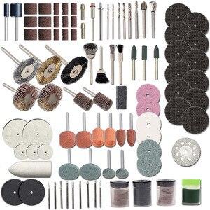 Image 4 - HILDA 248PCS 쉬운 절단을위한 로타리 공구 액세서리 Hilda Dremel 용 연삭 샌딩 조각 및 연마 도구 조합