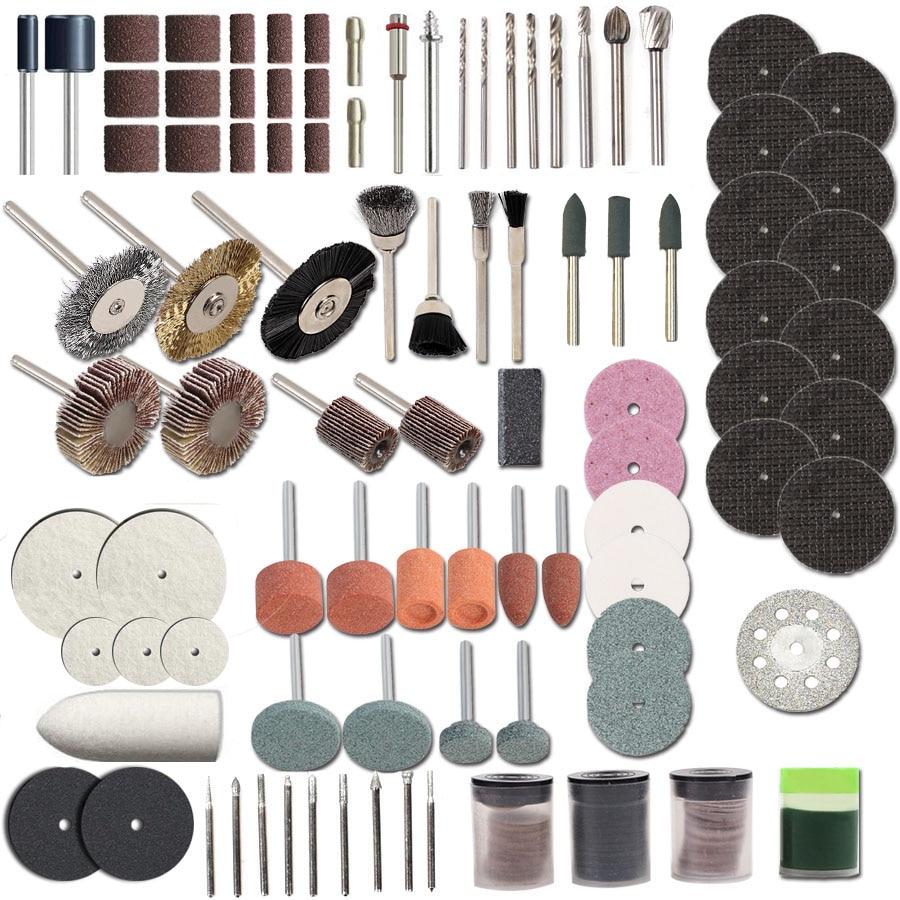 HILDA 248PCS Akcesoria do narzędzi obrotowych do łatwego cięcia - Akcesoria do elektronarzędzi - Zdjęcie 4