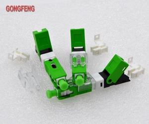 Image 2 - GONGFENG למכור חם חדש 100 יחידות סיבים אופטיים מהיר מחבר קר FTTH מצב יחיד SC UPC/APC מחבר מהיר סיטונאי מיוחד