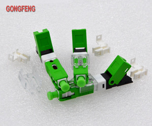 Image 2 - GONGFENG NEW Hot Sell 100PCS Optic Fiber Quick Cold Connector FTTH SC Single Mode UPC/APC  Fast Connector Special Wholesale