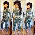 2015 AliExpress Горячие Продаем Европейский Стиль Мода женская Одежда Камуфляж Tight Ног Досуг Джинсовые женские Эст
