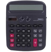 Truly 836A-12 office-type solar calculator 12 classic style calculator