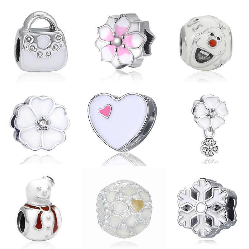 Fit Bracelet Pandora charmes Berloque Mary Poppins argent 925 Bijoux Joyas saint valentin Bijoux perles pour la fabrication de Bijoux
