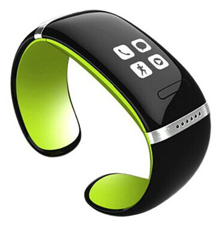 New arrival smart meter intercommunicating looply led hand ring lovers electronic watch music sports bracelet watch