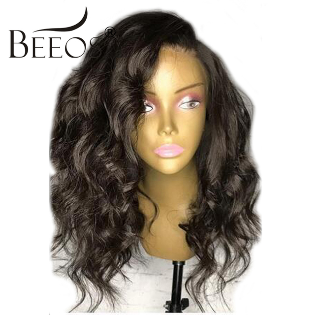 Beeos 10 16 150 Density Brazilian Lace Front Wigs With Baby Hair