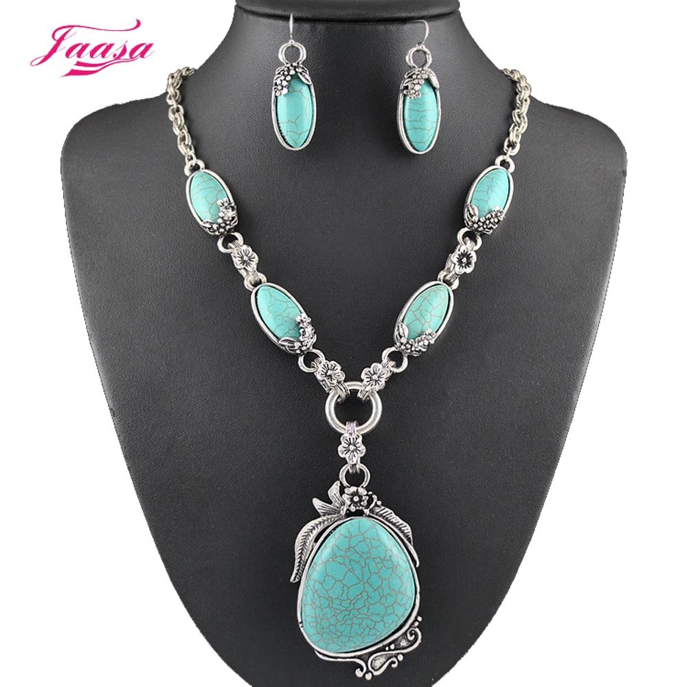 Aliexpress.com : Buy Fashion Vintage Necklace Set Antique ...