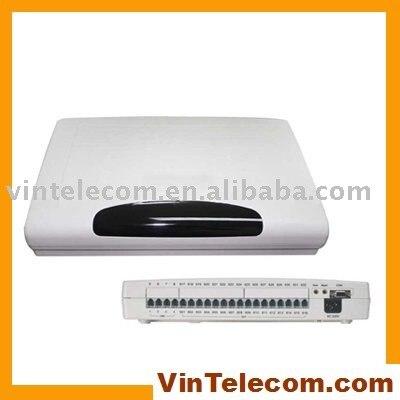 Chine téléphone pbx système usine-VinTelecom CP416-4 LIGNES et 16 Poste. téléphone ports