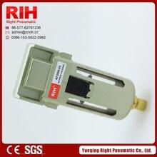 "Pneumatic air source RIH  Air Filter AF3000-03 aluminium alloy G3/8"""