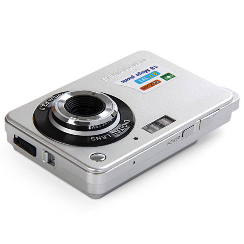 2.7 Inch HD Digital Camera 18 Million Pixels DC-K09 High Performance CMOS Sensor Zoom Anti-shake Anti-red eye Digital Cam