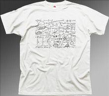 Maths Science Physics Equation Geek Funny Blue Cotton T-shirt Tops Tees Printed Men T Shirt Game Tee Shirt The New