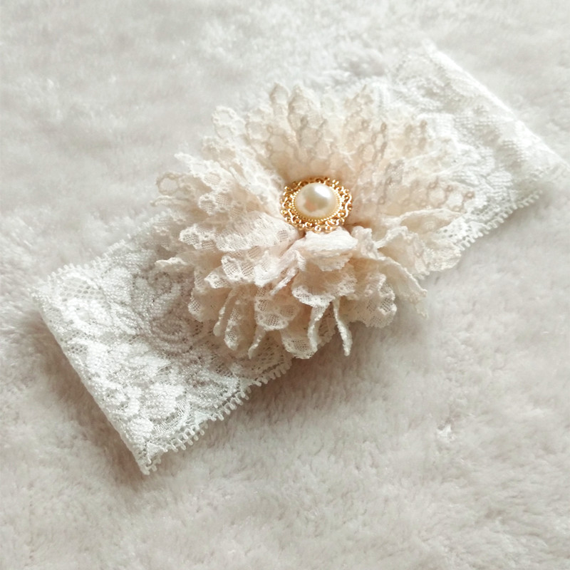 Bridal Garter Vintage 1 Pair Bridal Ivory Flower Wedding Garter Toss Garter White Stretch Lace with