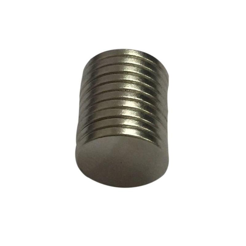 10pcs 12 x 1mm N50 Mini Super Strong Rare Earth Fridge Permanent Magnet Small Round Neodymium Magnet