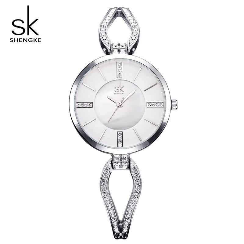 Shengke शीर्ष ब्रांड लक्जरी - महिलाओं की घड़ियों