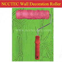 "7"" 180mm NCCTEC wall decoration paint roller with handle 